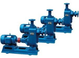 ZW型自吸式无堵塞排污泵 自吸式污水泵