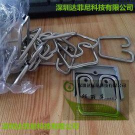 直销304无磁弹簧线 不锈钢光亮钢丝线 调直切断加工钢丝折弯