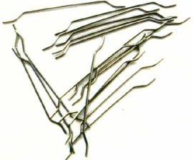 耐冻融性强端钩钢纤维