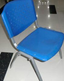 河北省霸州市胜芳镇背带眼塑料面塑钢椅子(YZ)