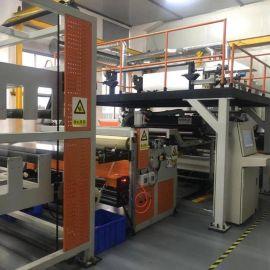tpu胶膜挤出机 tpu塑料片材机 金韦尔机械