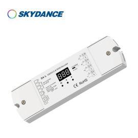景晴LED控制器DMX512恒压解码器D4-L