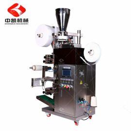 厂家直销 定制袋泡茶包装机 全自动养生茶、绿茶挂线挂标签茶包机