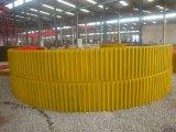 建奎牌2.2米球磨機大小齒圈球面瓦