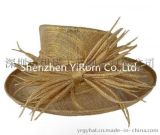 YRSM15005麻纱帽kentucky derby royal ascot race sinamay church hat