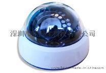 定焦网络半球高清网络摄像机 仿三星外观摄像机 720P百万高清半球摄像机