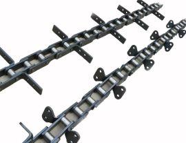 节距66.5、66.675、100、125、160、200mm刮板链条