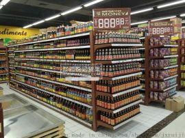 赣州商超设备 超市货架 超市收银台 促销台 蔬果架 购物车 购物篮 挂牌 标价条