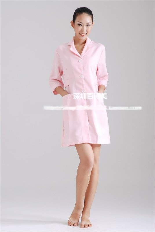 现货美容院美容师工作服MR072R按摩院服装养生理疗工作服女美容服