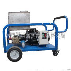 【**】高压冷水流清洗机 汽油机驱动管道高压清洗机