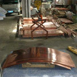现货供应非标铜板 T2紫铜板 止水铜板 量大从优