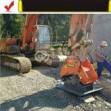 挖掘機夯實回填土、振動平板夯、液壓夯