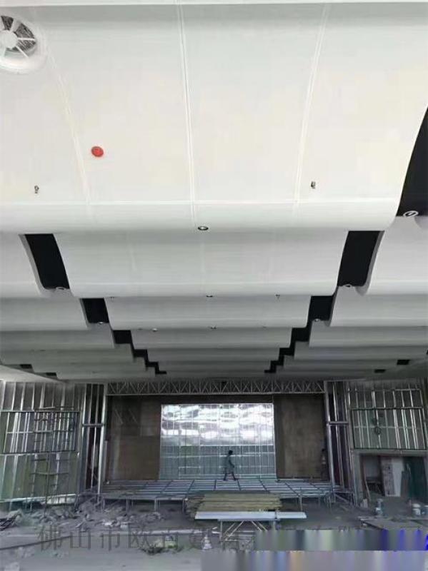 2.0厚波浪形外墙铝单板 图案铝单板生产商