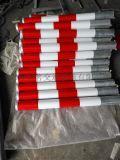 上海厂家定制铁质反光红白黄黑警示柱