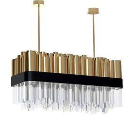 后现代管状吊灯,港式吊灯 厂家定制灯饰