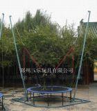 山东济宁圆形电动钢架蹦极游乐项目