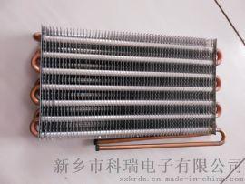 水冷脉冲焊接翅片蒸发器散热器新乡科瑞