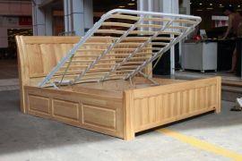 实木高箱床排骨架