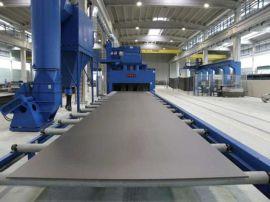 钢板通过式钢结构抛丸机 辊道通过式抛丸机 厂家直供