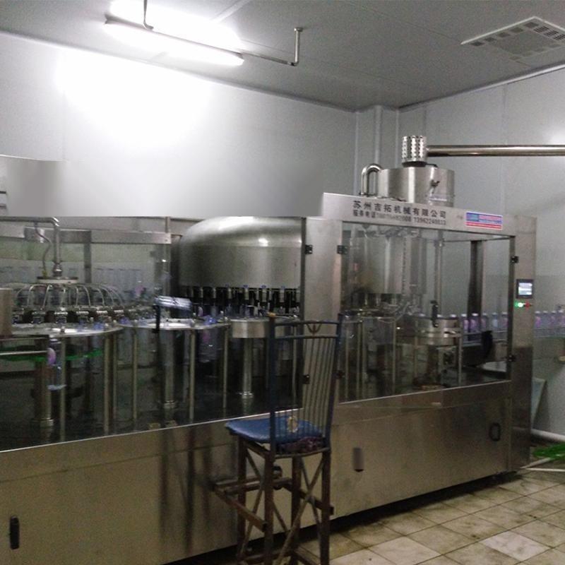 廠家直銷 XGF-12-12-5礦泉水灌裝機 三合一灌裝機械生產線