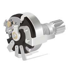旋转带开关电位器(RV17-K1)