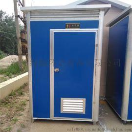 工地简易厕所临时流动卫生间彩钢板单体厕所