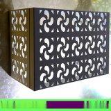 鐳射雕刻異形衝孔花格鋁單板 定制中式鏤空造型鋁幕牆