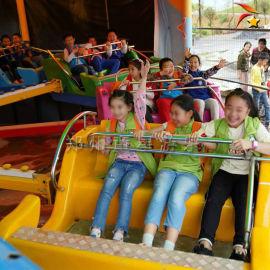 游乐场新型游乐北京赛车雷霆节拍图片视频