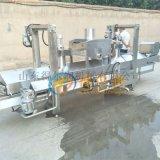 DR2膨化锅巴油炸生产线优势 环保自动锅巴油炸设备