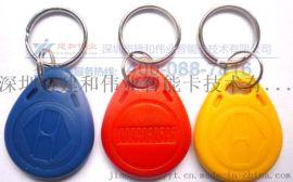 3号蓝色钥匙扣卡 钥匙扣生产工厂