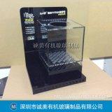 有机玻璃汽车空调测试展示箱  亚克力烟雾过滤箱