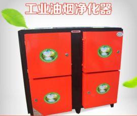 低空工业静电式排放标准油烟净化器4000风量无气味