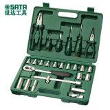 世达汽修工具,26件工具套装,12.5mm套筒