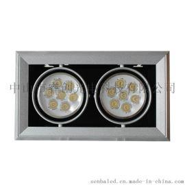 3W大功率室內嵌燈,室內照明燈