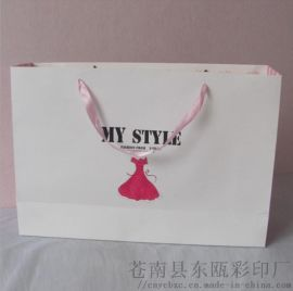 专业定制手提袋手挽袋礼品袋 批发优质广告环保创意购物礼品袋