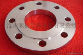 平焊法兰 Q235碳钢平焊法兰 锻打平焊法兰