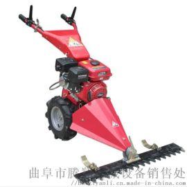 除草神器 手推式自动割草机 电动小型家用草坪修剪机