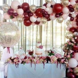 昆明花語花香氣球造型氣球布場氣球裝飾氣球立柱