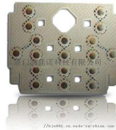 厂家生产高寿命直径7mm   四角锅仔片按键贴纸