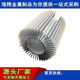 电子散热器铝合金开模 散热铝材定制 CNC数控加工