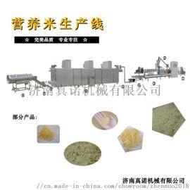黄金米人造大米加工机械设备婴儿米粉生产线休闲食品