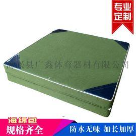 广鑫体育直销防滑帆布体操垫舞蹈垫运动垫子海绵包