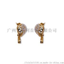 2019新款925银,铜,珍珠耳环生产工厂