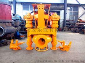 装在挖机上的清淤泵-挖机抽泥泵-泥浆泵