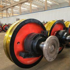 厂家龙门行吊车轮组 直径700起重机车轮组耐磨高