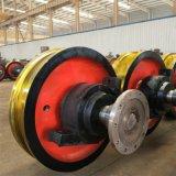 廠家龍門行吊車輪組 直徑700起重機車輪組耐磨高