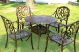 欧式铝合金组合休闲套椅