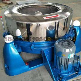 勉县工业不锈钢脱水机50kg布草折叠工业甩干机