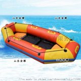 折叠橡皮艇漂流船,充气钓鱼船漂流船,加厚硬底耐