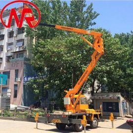 高空作业车 自行折臂机  自行直臂升降机